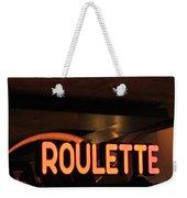 Roulette Weekender Tote Bag