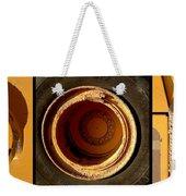 Round And Round Weekender Tote Bag by Marlene Burns