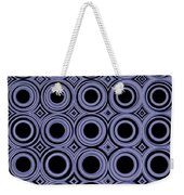 Round In Circles Weekender Tote Bag