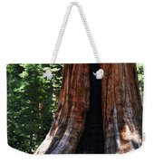 Round Meadow Giant Sequoia Portrait Weekender Tote Bag
