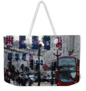 Round The Piccadilly Weekender Tote Bag