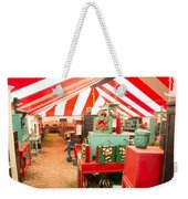 Round Top Texas Under The Big Tent Weekender Tote Bag