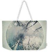 round treetops II Weekender Tote Bag by Priska Wettstein
