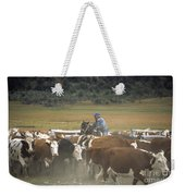 Cattle Round Up Patagonia Weekender Tote Bag