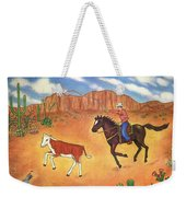 Round Up Weekender Tote Bag