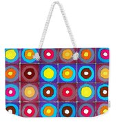 Round Up The Squares Weekender Tote Bag