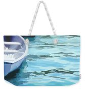 Rounded Row Of Rowboats Weekender Tote Bag