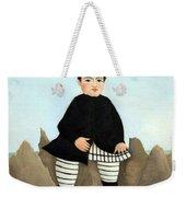 Rousseau's Boy On The Rocks Weekender Tote Bag