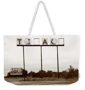 Route 66 - Abandoned Texaco Station Weekender Tote Bag
