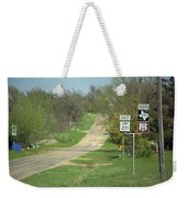 Route 66 - Alanreed Texas Weekender Tote Bag