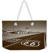 Route 66 - Amboy California Weekender Tote Bag