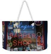 Route 66 - Angel's Barber Shop Weekender Tote Bag