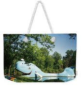 Route 66 Blue Whale Waterpark Weekender Tote Bag
