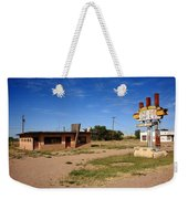 Route 66 Cafe Weekender Tote Bag