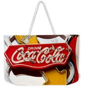 Route 66 Coca Cola Weekender Tote Bag