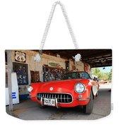 Route 66 Corvette Weekender Tote Bag