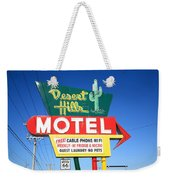 Route 66 - Desert Hills Motel Weekender Tote Bag
