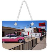Route 66 Diner Weekender Tote Bag