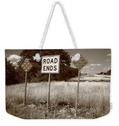 Route 66 - End Of The Road Weekender Tote Bag