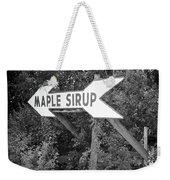 Route 66 - Funk's Grove Sirup Weekender Tote Bag