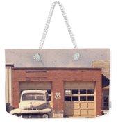 Route 66 Garage Weekender Tote Bag