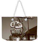 Route 66 - Glancy Motel Weekender Tote Bag