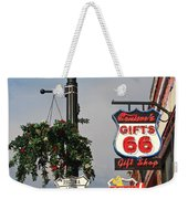 Route 66 In Williams Arizona Weekender Tote Bag