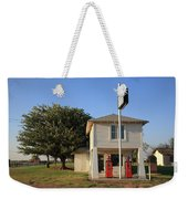 Route 66 - Lucilles Gas Station Weekender Tote Bag