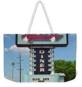 Route 66 - Metro Diner Weekender Tote Bag