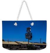 Route 66 Motel Weekender Tote Bag