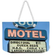 Route 66 Motel Sign 3 Weekender Tote Bag