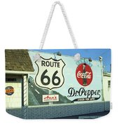 Route 66 - Mural With Shield Weekender Tote Bag