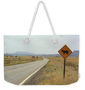 Route 66 - New Mexico Highway Weekender Tote Bag