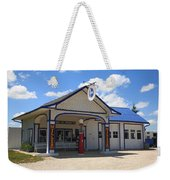 Route 66 - Odell Gas Station 7 Weekender Tote Bag