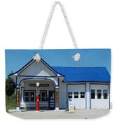 Route 66 Odell Il Gas Station 01 Weekender Tote Bag