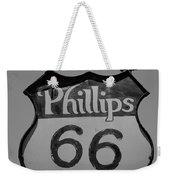 Route 66 - Phillips 66 Petroleum Weekender Tote Bag