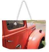 Route 66 Pickup Truck Weekender Tote Bag