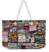 Route 66 Signs Weekender Tote Bag