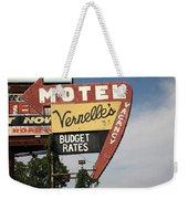 Route 66 - Vernelle's Motel Weekender Tote Bag