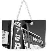 Route 66 - Western Motel 7 Weekender Tote Bag