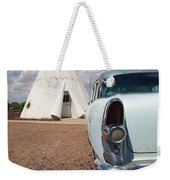 Route 66 Wigwam Motel Weekender Tote Bag