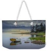 Row Boat By Mount Desert Island Weekender Tote Bag
