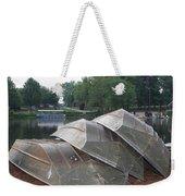 Row Boats Weekender Tote Bag