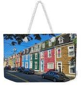 Row Houses Weekender Tote Bag