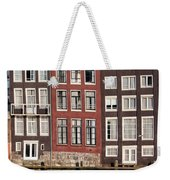 Row Houses In Amsterdam Weekender Tote Bag