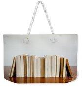 Row Of Books Weekender Tote Bag