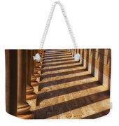 Row Of Pillars Weekender Tote Bag
