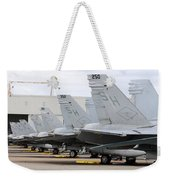 Row Of U.s. Marine Corps Fa-18 Hornet Weekender Tote Bag