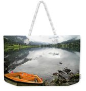 Row Your Boat To The Briksdalsbreen Glacier Weekender Tote Bag