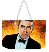 Rowan Atkinson Alias Johnny English Weekender Tote Bag